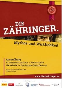 Ausstellungsplakat - Die Zähringer - Mythos und Wirklichkeit